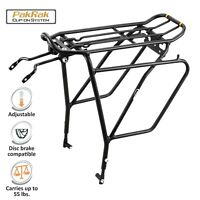 "Ibera Bike Rear Rack Touring Carrier Plus for Disc Brake Mount Fit 26""-29"" Bike"