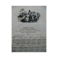PANSERON Auguste Emmène Moi Chant Piano ca1830 partition sheet music score