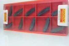 10 X Sandvik Wendeschneidplatten N123h2-0400-0002-gf 1105