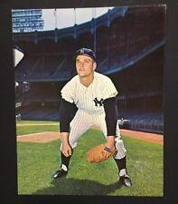 Roger Maris 1964 Requena Yankee Stadium original 8x10 PhotoRare Non Auto Version