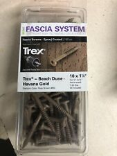 "(100 Screws) Trex Fascia System 10x1 7/8"" Beach Dune Stainless Steel Star D"