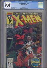 Uncanny X-Men #265 CGC 9.4 1990 Marvel Comics Andy Kubert Cover : New Frame