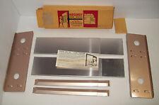 MID CENTURY Hideaway Door Shelves for Home Kitchen, ORIGINAL BOX, New Old Stock