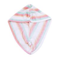 1Pcs Shower Cap Cotton Absorbent Dry Hair Fiber For Bathroom Accessory New PS