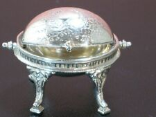 Stephen O'Meara Sterling Silver Revolving Tureen RARE Artisan Dollhouse Miniatur