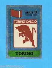 PANINI CALCIATORI 1989/90 -Figurina n.487- SCUDETTO - TORINO -Recuperato