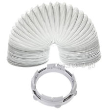 WHITE KNIGHT CROSSLEE Tumble Dryer Vent Hose Condenser Adaptor Kit CL372 2m