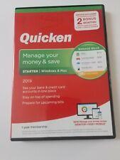 Quicken Starter 2019 Personal Finance & Budgeting Software [PC/Mac Disc] 1-Year