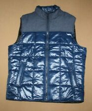 NWT COLEMAN Mens Navy Blue Quilted Vest Size L