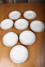 8 Vintage Edwin M Knowles China Co Garland Pattern Bowls Made In USA