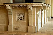 Bar Kitchen Counter Stone Garden Arts & Crafts Gothic Ellison Tile