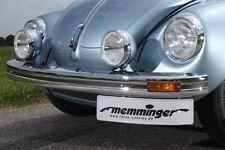 VW Käfer Stoßstange Stoßfänger vorne ab 1974 mit Blinkerausschnitten