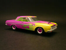 1964 PLYMOUTH FURY MAX WEDGE LIMITED EDITION 1/64 VERY RARE HOT PINK!!