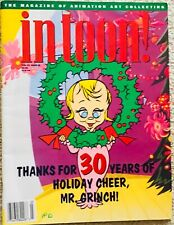 Grinch Christmas ads Rudolph Charlie Brown's Christmas  tv ads! magazine items