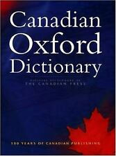 Canadian Oxford Dictionary Hardcover Katherine Barber
