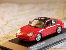 MINICHAMPS PORSCHE 911 TARGA 2001 RED 1/43 ART.400061060 NEW DIE-CAST