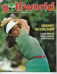 1981 4/10 Golf World Newsweekly magazine, Nancy Lopez-Melton VG