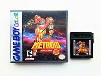 Metroid II 2 DX Game / Case COLOR Remastered Nintendo Game Boy GBC Deluxe (USA)