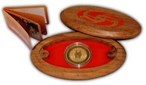NZ -2014 - 1 OZ Gold  Proof Coin- Maori Art -Papatuanuku and Ranginui
