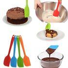 Cake Cream Butter Spatula Mixing Batter Scraper Brush Silicone Baking Cook Tool
