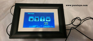 "2006 Pandigital Digital Photo Frame 7"" Model DPF70-1 100% Complete and Working"