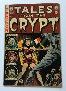 Tales from the Crypt 41 * 1.8-2.0ish * Pre Code Horror * EC * pch * 🔥 🔑