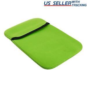 Reversible Neoprene Tablet Case (Green and Black)