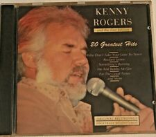 Kenny Rogers 20 Greatest Hits Music CD Original Recordings