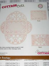 "COTTAGE CUTZ  ""LACE ENVELOPE MADE EASY""  CX-004 FOR CARDS & SCRAPBOOKING & CARDS"