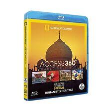 Access 360 World Heritage Blu Ray The Amazon Taj Mahal Statue of Liberty +More