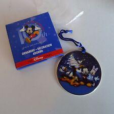Disney Store 10th Anniversary Ornament A Decade of Dreams 1997 Mickey Mouse Nib