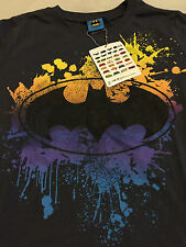 DC COMICS BATMAN FLOYD BOYS KIDS TEE TSHIRT Sz12 Authentic *NEW* RARE SALE!