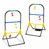 Go! Gater Foldable Ladderball Set Ball Toss Game Tailgate Lawn Camping Sport
