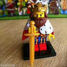 LEGO 71008 Minifigures CLASSIC KING #1 Series 13 NEW SEALED Minifig Sword Crown
