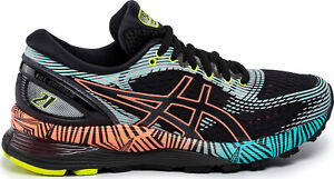 Asics Gel Nimbus 21 Lite Show 2.0 Women Black Neutral Running Shoes 1012A540-001