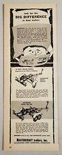1958 Print Ad Mastercraft Boat Trailers Customline & Cruiserline Middletown,CT
