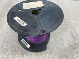 2500-FT Purple Spool Hook-Up Wire Tefzel Coated 20 AWG Copper Material
