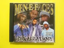 Men-E-Faces Reincarnation Explicit RAP G Funk CD