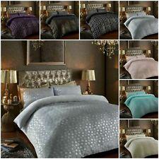 Star Foil Super Soft Cosy Teddy Bear Fleece Duvet Quilt Cover Bedding Set