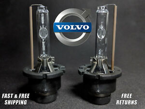 OE HID Headlight Bulb For Volvo S60 S80 2004-2006 LOW Beam Set of 2