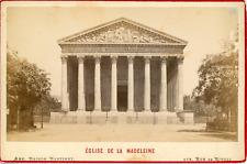 Maison Martinet, France, Paris, Église de la Madeleine, ca.1880, vintage albumen