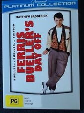 FERRIS BUELLER'S DAY OFF - Matthew Broderick - Platinum Edition DVD #442