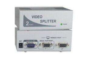 VPI Vopex 2 Port VGA Video Splitter 200MHz