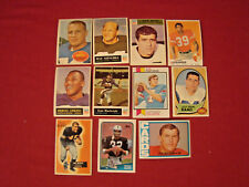 MARCUS ALLEN RAY NITSCHKE SAM HUFF JACK SNOW DICK HOAK BOB WATKINS FOOTBALL CARD