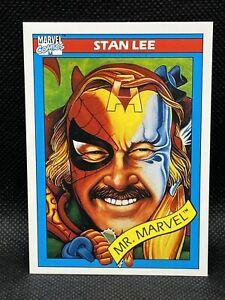 """1990 Stan Lee Impel """"Mr Marvel"""" #161"""