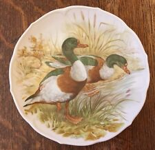 Vintage Large Collectors Plate Of Mallard Ducks By Royal Schwabap, Holland 9.5""