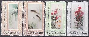 Korea (N) - 1998 - MNH - (4057-4060) Birds