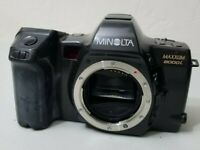 Minolta Maxxum 8000i 35mm SLR Film Camera Body Only Tested FREE SHIPPING!