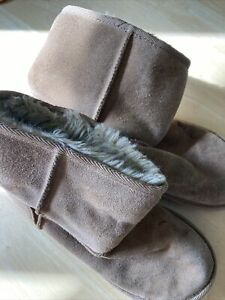 Brown Boots Size 2