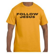 Christian Religious Tshirt Follow Jesus Short or Long Sleeve